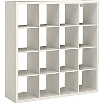 Ikea kallax bookcase room divider cube display home kitchen - Kallax 4 cases ...