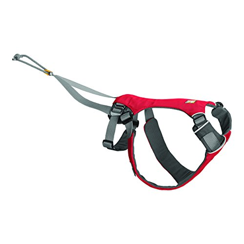 Ruffwear - Omnijore Harness, Dog-Pulling Harness, Red Currant, Medium