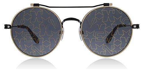 Givenchy GV7079/S 2M2 Black / Gold GV7079/S Round Sunglasses Lens Category 3 - Givenchy Sunglasses Men