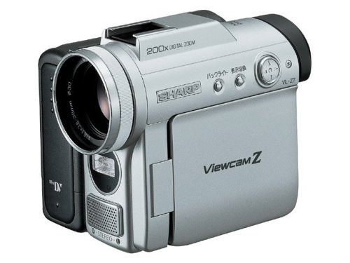 SHARP VL-Z7 液晶デジタルビデオカメラ シルバー