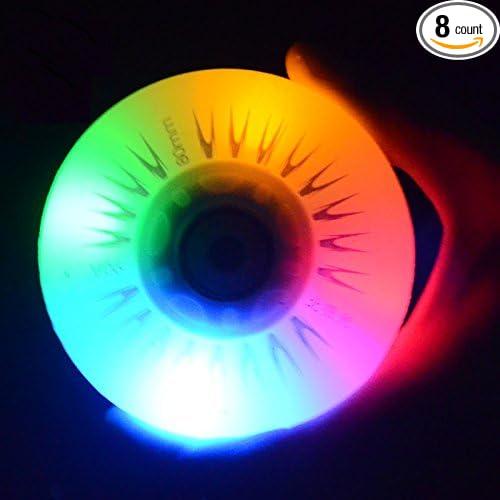 Amazon.com : katrinacoco 7 Colors LED Light Flash Roller ...