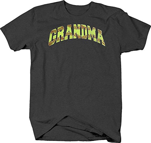 Softball Grandma Sports Athlete Homerun Grand slam Bases Field T shirt for men - 4XL