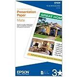 Epson Presentation Paper Matte 100 8.5x14