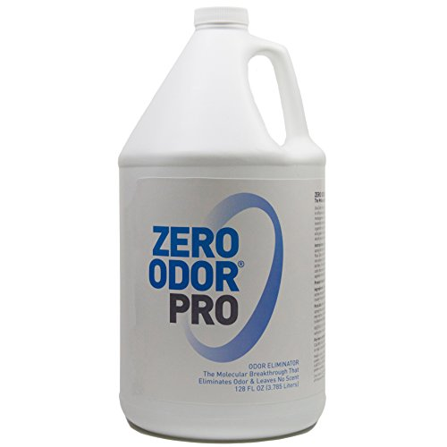 Zero Odor Pro - Commercial Strength Odor Eliminator - Neutralizer - Deodorizer - Smell Remover - (128-ounce Refill)