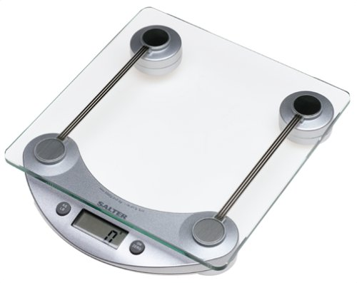 UPC 656982114664, Salter Digital Scale, Glass with Silver accents