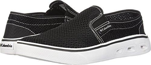 Columbia Women's Spinner Vent MOC Water Shoe, Black, White, 11 Regular US