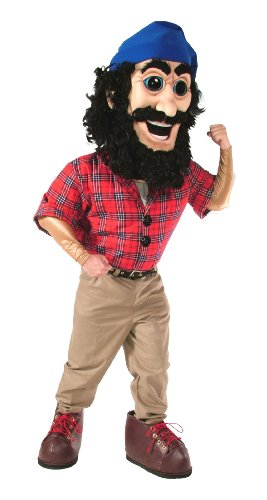[ALINCO Lumberjack Mascot Costume] (Alinco Costumes)