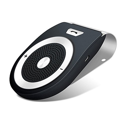 Bluetooth Car Speakerphone, Wireless Bluetooth 4.1 Handsfree Sun Visor In-car kit Multipoint Wireless Connection with Clip for iPhone, iPad, Samsung Galaxy, HTC, LG, Android Phones & Tablets by COROTC