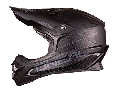 O'Neal 0623-063 3 Series Helmet (Black, Medium)