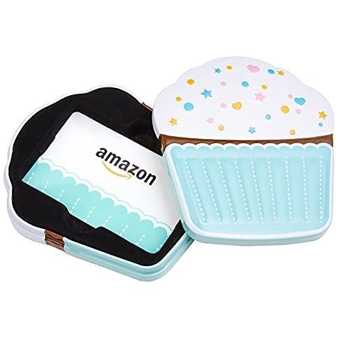 amazon.com gift card in a birthday cupcake tin - 4108EUWUG1L - Amazon.com Gift Card in a Birthday Cupcake Tin