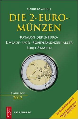 Amazonfr Die 2 Euro Münzen Katalog Der 2 Euro Umlauf Und