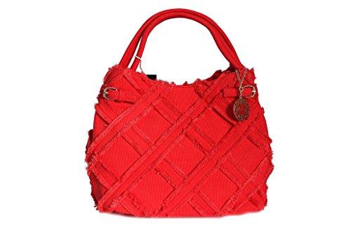 Borsa donna Renato Balestra l.Alhambra shopping a spalla 2052.2 corallo