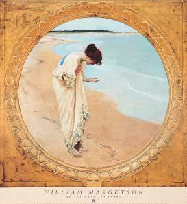 Sea Hath Its Pearls, The by William H. Margetson. Size 27.00 X 27.13 Art Poster Print