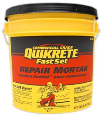 - Quikrete Fast Set Repair Mortar 20 Lbs.