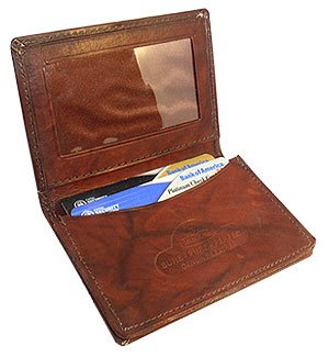 Marshal Small Credit Card Holder Wallet With Expandable Pocket
