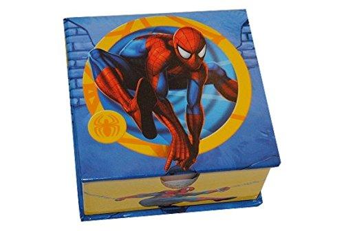 Notiz Block Spiderman in der Box Notizzettelbox Notizblock Notizzettel Block