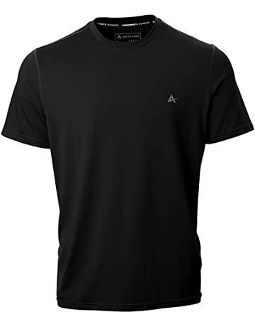 7fd73056 Arctic Cool Men's Crew Neck Instant Cooling Short Sleeve Shirt Performance  Tech Breathable UPF 50+