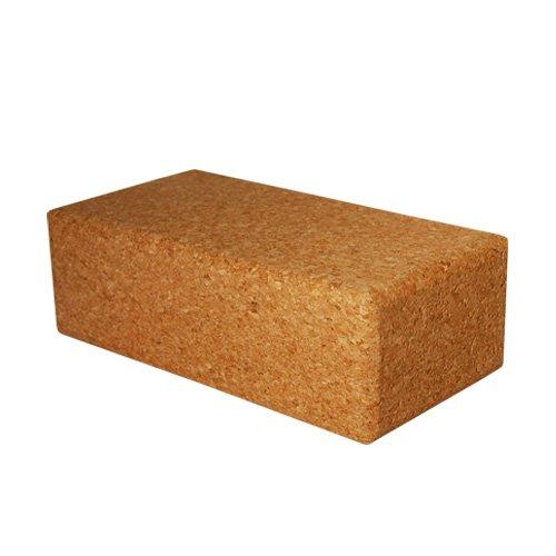 "Small Cork Yoga Block 9"" X 4.5"" X 3"""