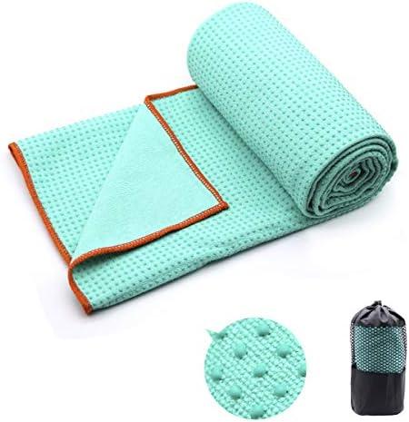 Yoga Towel Hot Corner Pockets Design