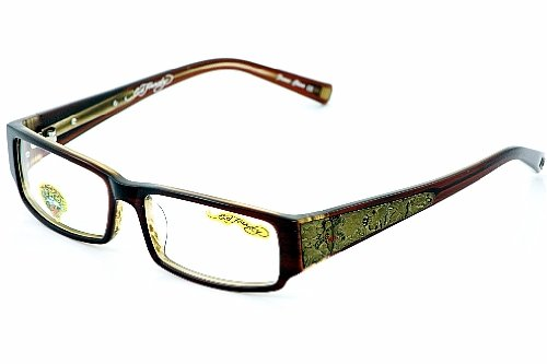 Amazon.com: Ed Hardy EHO-724 Designer Eyeglasses - Hazel: Sports ...