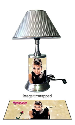 Audrey Hepburn Lamp with chrome shade, Breakfast at - Shades Audrey Hepburn