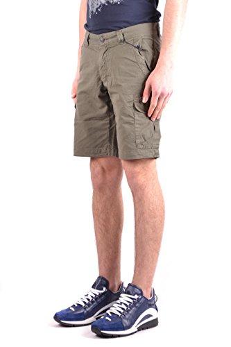 Uomo Wosho0392ct404161 Verde Woolrich Pantaloni Cotone Cqnw14
