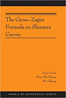 Book The Gross-Zagier Formula on Shimura Curves (Annals of Mathematics Studies)