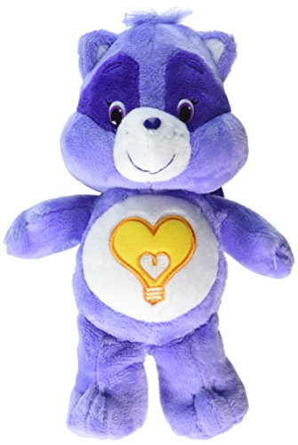 Just Play Care Bear Bean Bright Heart Raccoon (Heart Care Bear Plush)