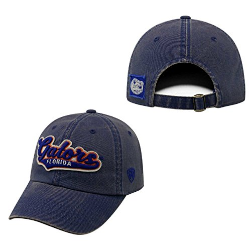 Florida Gators Official NCAA Adjustable Park Hat Cap by Top of the World 027647