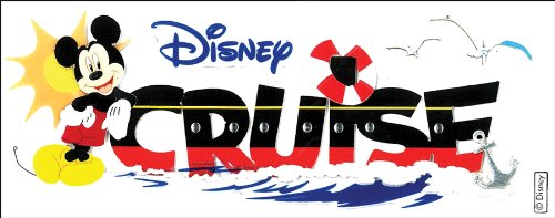 Disney Titlewave Stickers, (Cruise Scrapbooking)
