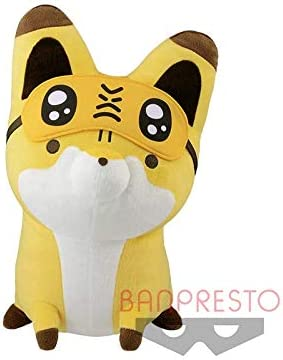 Raccoon and fox tanuki to kitsune big Plush Doll Stuffed toy 40cm From JAPAN