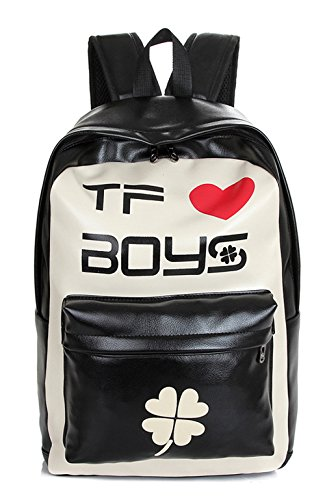 Keshi Pu neuer Stil Damen accessories hohe Qualität Einfache Tasche Schultertasche Freizeitrucksack Tasche Rucksäcke Weiß