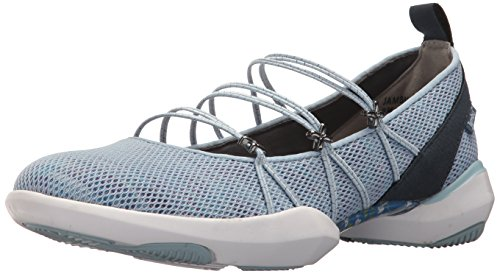 Jambu Womens Cheyenne Vegan Ballet Flat Powder Blue