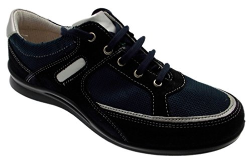 Article G0258 Goretex daim bleu lacets baskets