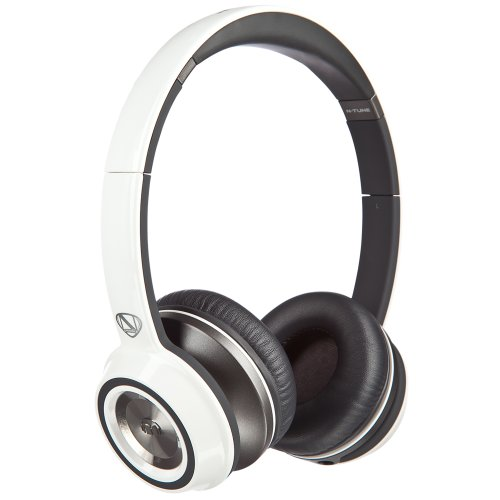 Monster NCredible NTune On-Ear Headphones, White