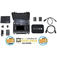 SmallHD 501 HDMI 5 On-Camera Field Monitor Kit, Includes Monitor Case, LP-E6 Battery&Charger Kit, Acrylic Protector, 5 Neoprene, Hot Shoe Mount, 8GB SD Card