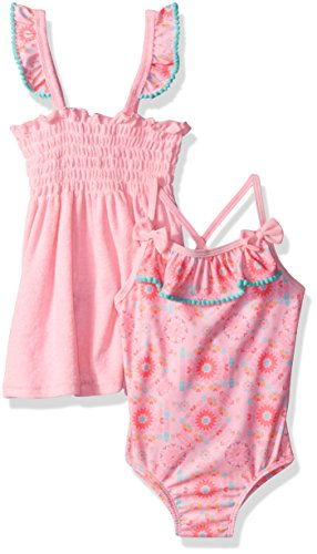 Baby Buns Toddler Girls' Tribal Cutie Terry Cover up Swim...