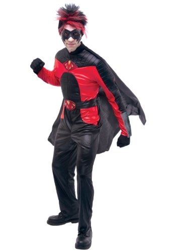 Red Mist Costumes (Red Mist Deluxe Adult Costume - Large)