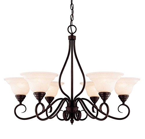 (Savoy House KP-104-6-13 Six Light Chandelier)