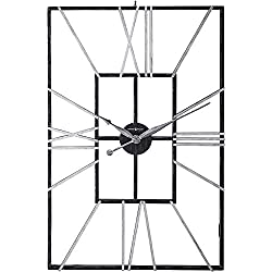 Howard Miller Park Slope Wall Clock 625-593 - Oversized Wrought-Iron with Quartz Movement
