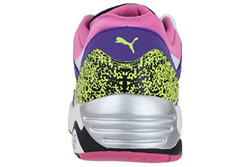 Puma Trinomic R698 Sneaker Men Trainers 357837 02 white / violett weiß / violett