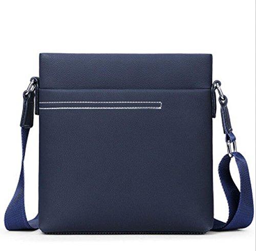 Bag Section Blue1 Messenger Business Cross Shoulder Men Backpack Leisure Portable Tide Vertical Computer nUBWWTX