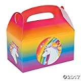 Fun Express Unicorn Favor Boxes - (24 Count)