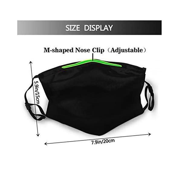 YYTT8-Gesichtsschutz-Mundschutz-Nasenschutz-Wiederverwendbar-Waschbar-Gesichts-Schals-Elch