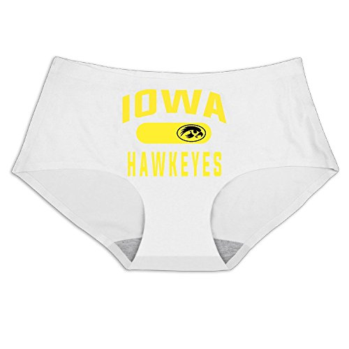 - MeiSXue Women's Iowa Hawkeyes UI Football Logo Ice Silk Briefs