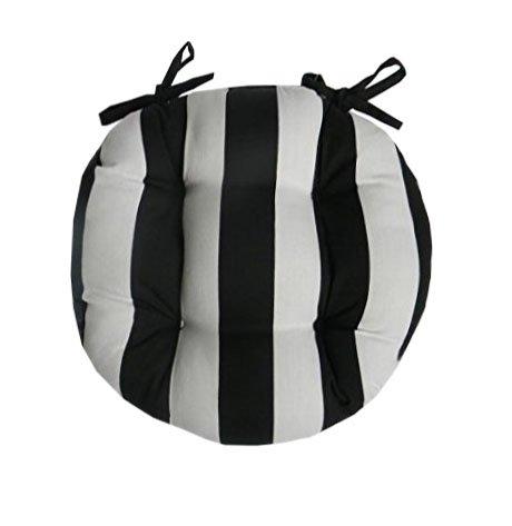 black chair cushion ties - 7
