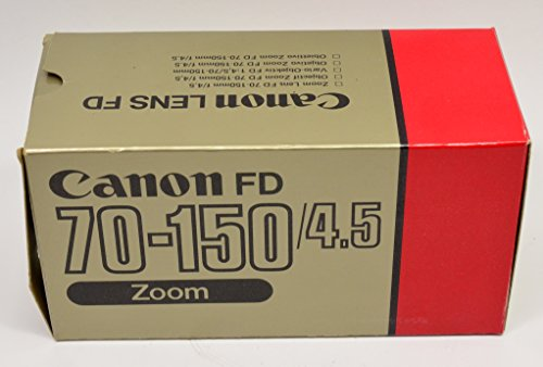 CANON NEW FD NFD 70-150mm F4.5 MF Zoom Lens(S/N:180219 )#52718