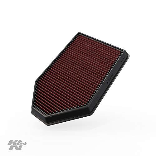 K&N engine air filter, washable and reusable:  2011-2019 Chrysler/Dodge V6/V8 (Charger, Challenger, 300) 33-2460