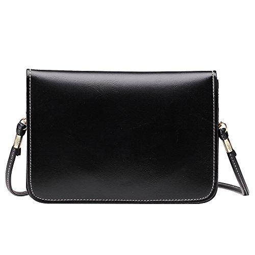 Leather Crossbody Black1 Purse PU Women Classic Bags Small Shoulder Bag Wallet Phone BnxHpq