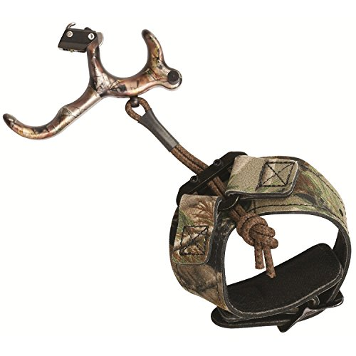 Scott Archery Longhorn Hunter Release, 3 Finger, Realtree AP (Best Back Tension Archery Release)